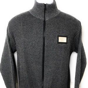 Dolce & Gabbana Gray men's turtleneck sweater EUC